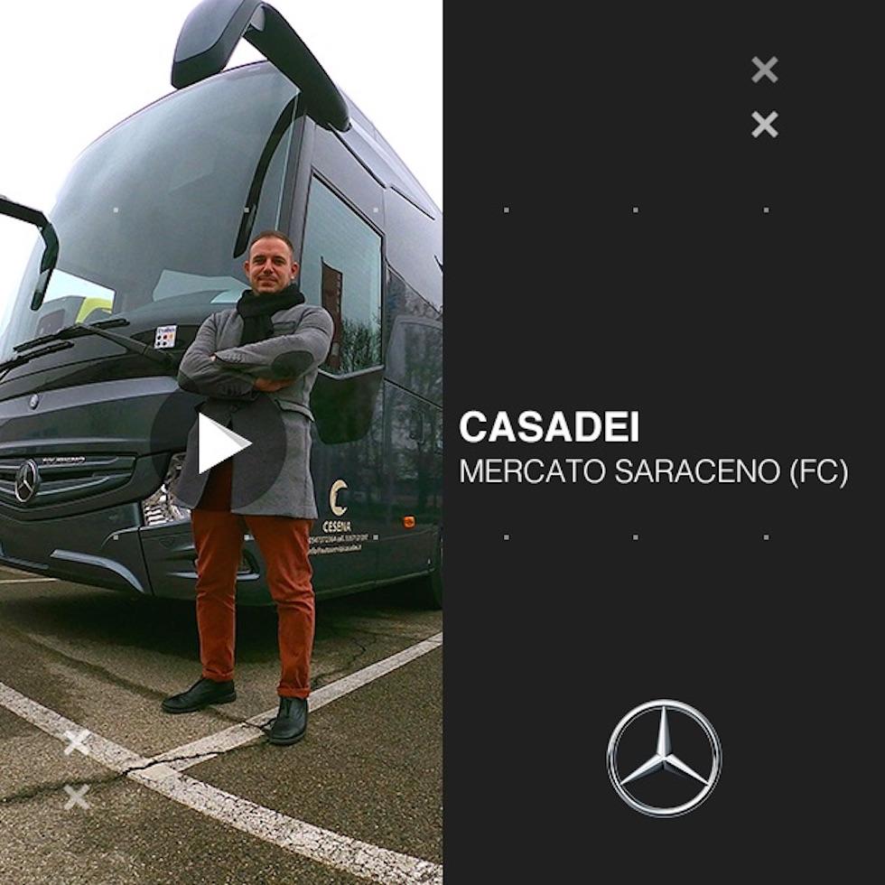 Consegna Mercedes-Benz 2020 a Casadei