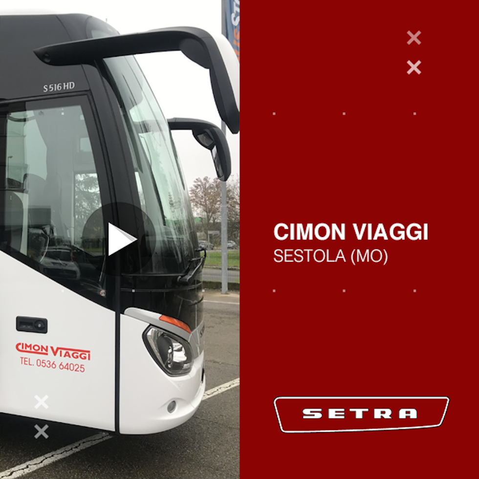 Consegna Setra 2020 a Cimon Viaggi