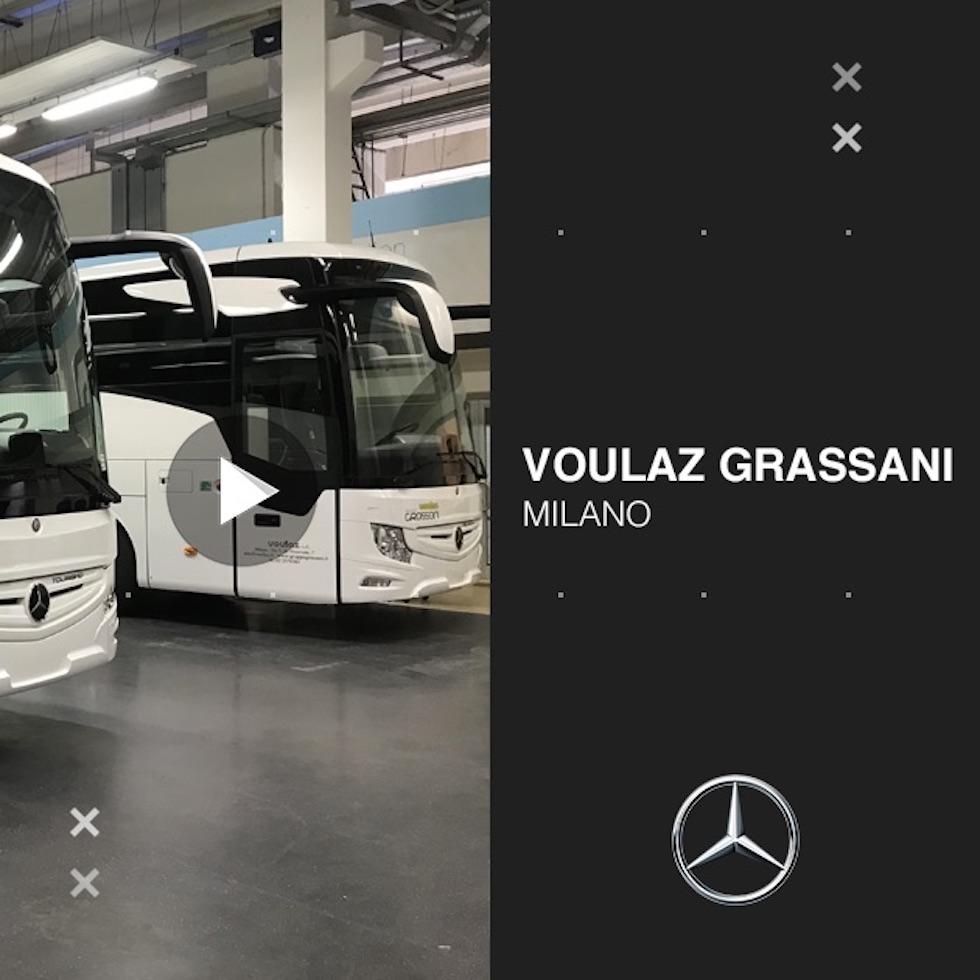 Consegna Mercedes-Benz 2020 a Voulaz Grassani