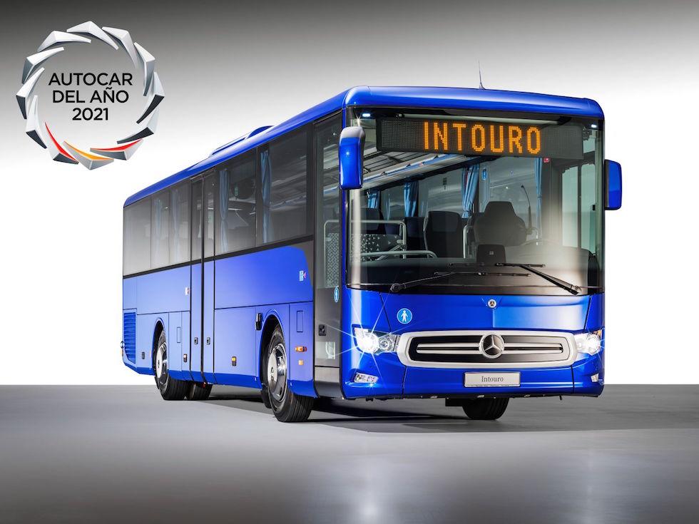 Intouro Mercedes-Benz autobus turistico dell'anno in Spagna