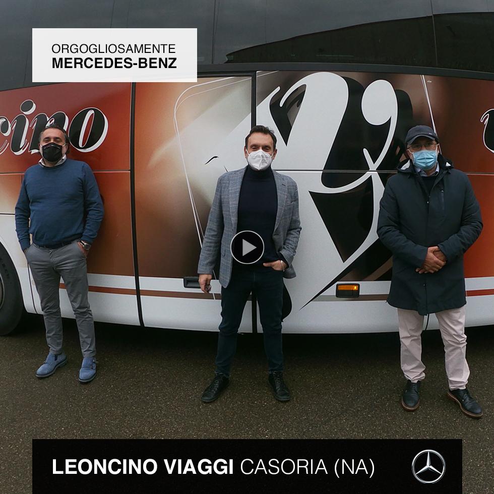 Consegna Mercedes-Benz 2020 Leoncino Viaggi