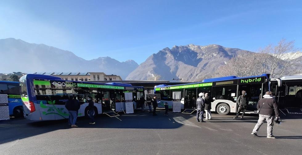 In Valle D'Aosta si viaggia in Mercedes Consegna TPL 2021