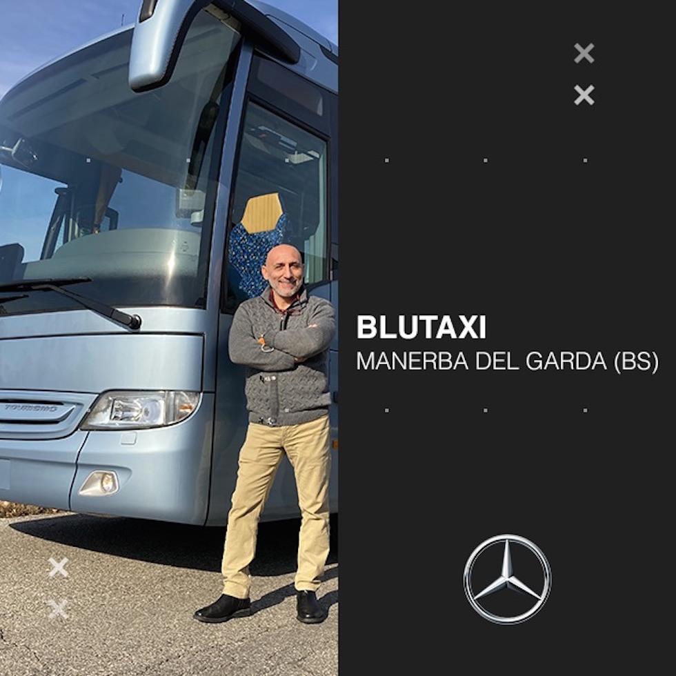 Consegna Mercedes-Benz 2020 a Blutaxi