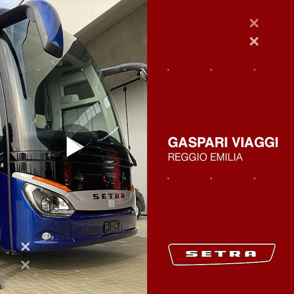 Consegna Setra 2020 a Gaspari