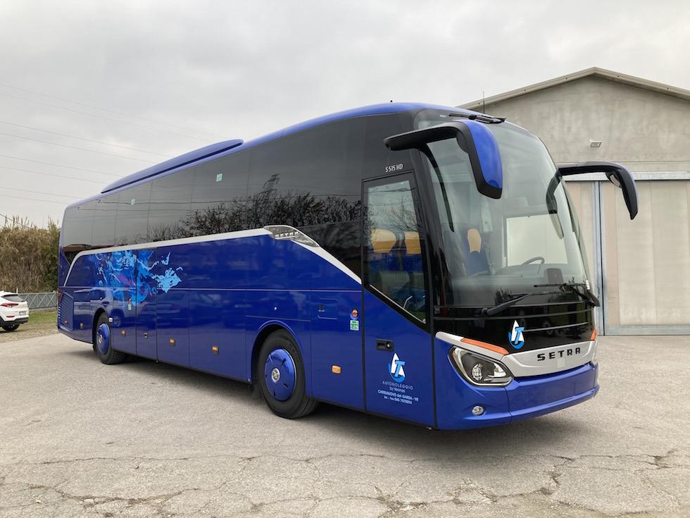 Consegna Setra 2020 Autoservizi Tiziano