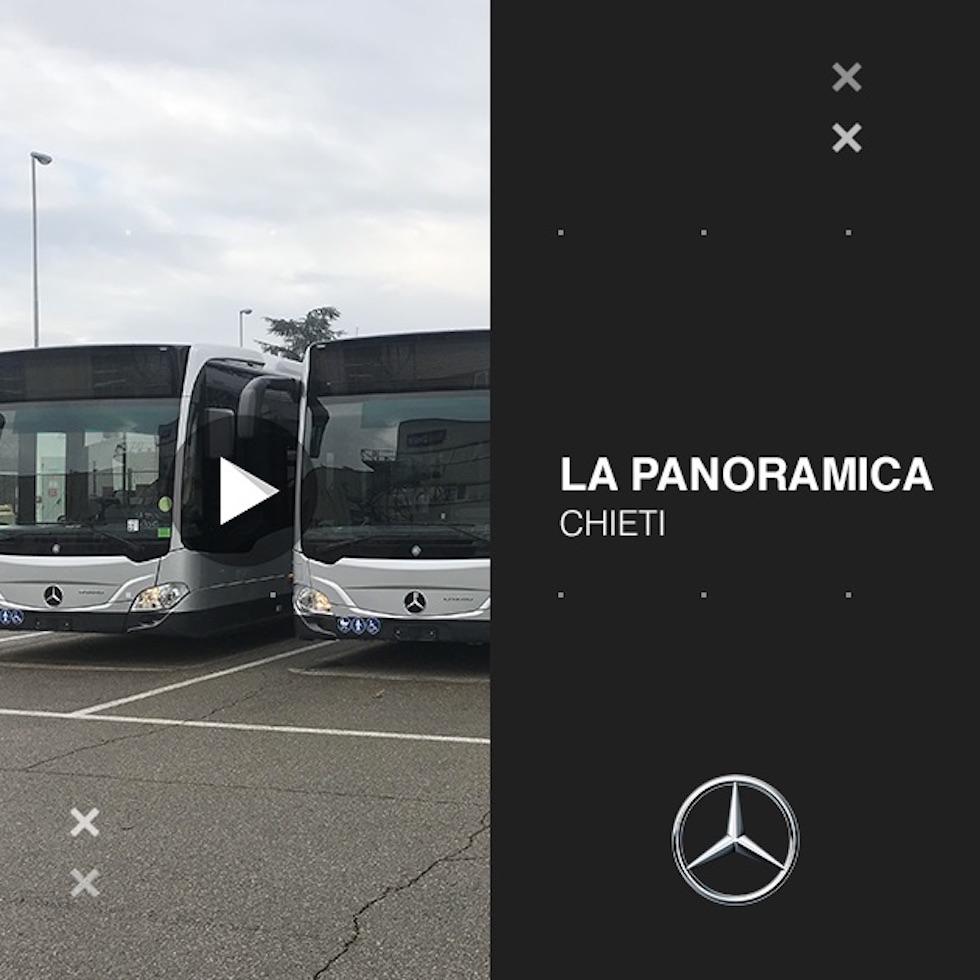 Consegna Mercedes-Benz 2020 a La Panoramica