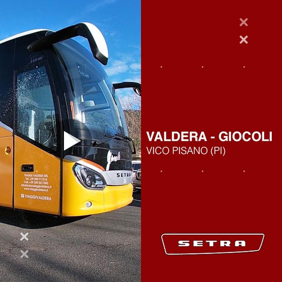 Consegna Setra 2020 a Valdera