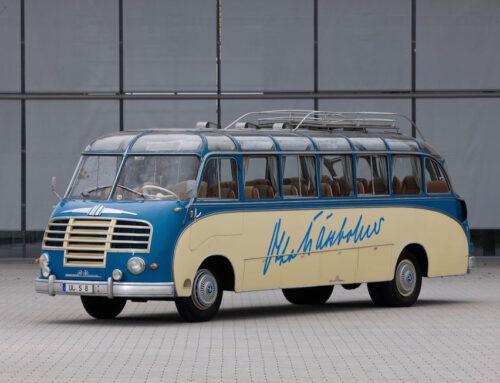 I 70 anni di Setra – prime tre serie di autobus