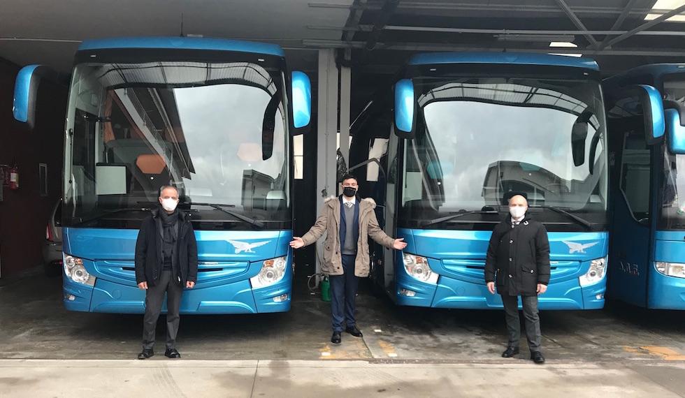 Consegna 2020 Mercedes-Benz a SAF Fontaneto