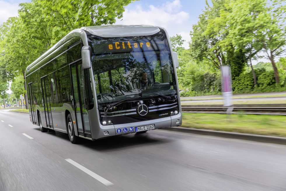 10 eCitaro Mercedes-Benz in Normandia