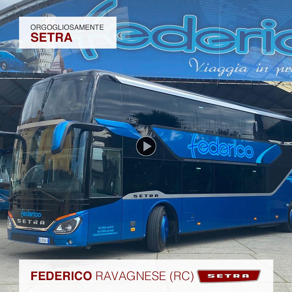 Consegna Setra 2021 a Federico