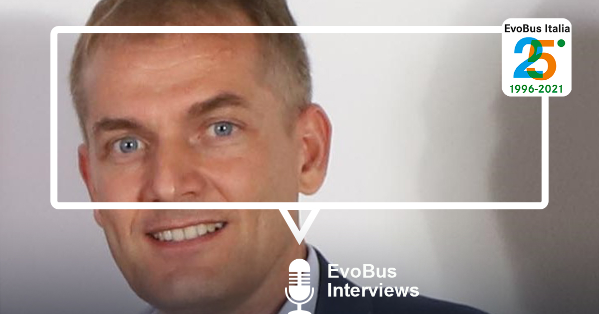 Intervista 25 anni a Heinz Friedrich CEO EvoBus Italia