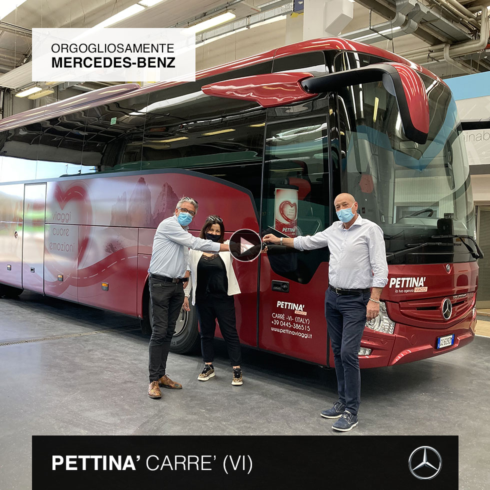 Consegna Mercedes-Benz 2021 a Pettina'