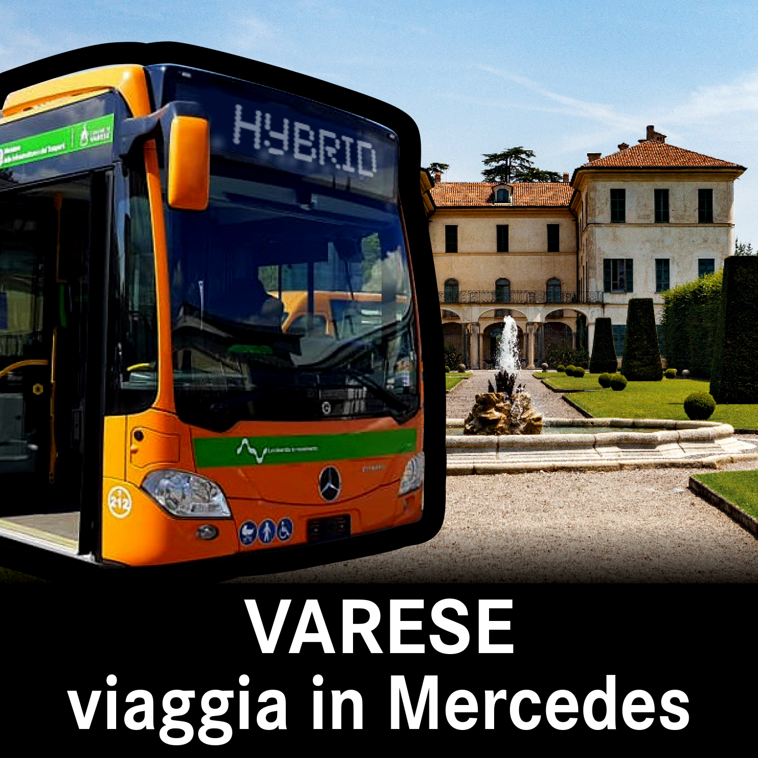 A Varese si viaggia in Mercedes 2021