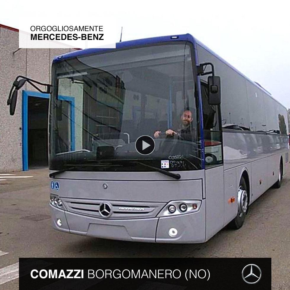 Consegna Mercedes-Benz 2020 a Comazzi