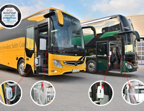 Soluzioni retrofit per la sicurezza e la prevenzione sull'autobus