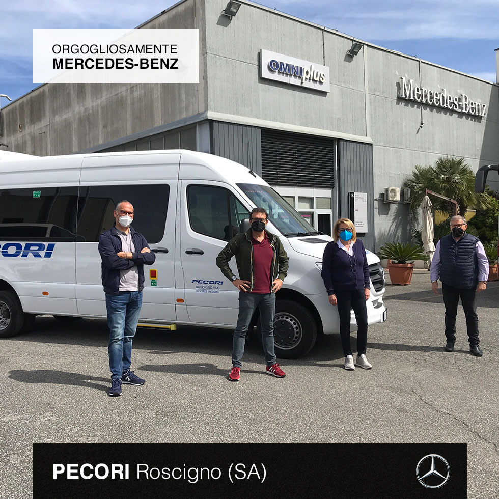 Consegna Mercedes-Benz 2021 a Pecori