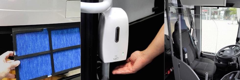 Retrofit covid 19 per autobus usati BusStore