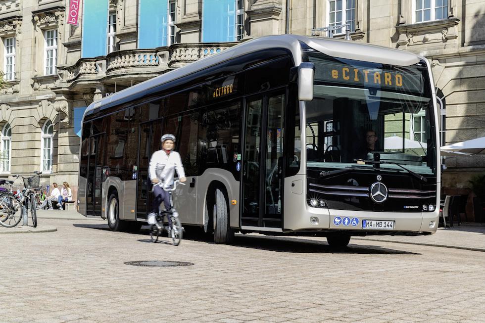 eCitaro Mercedes-Benz ordinati a Basilea