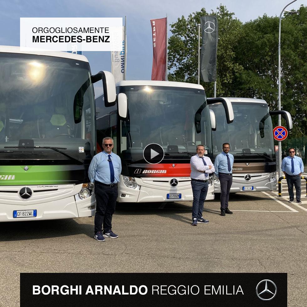 Borghi Arnaldo Consegna Mercedes-Benz 2021