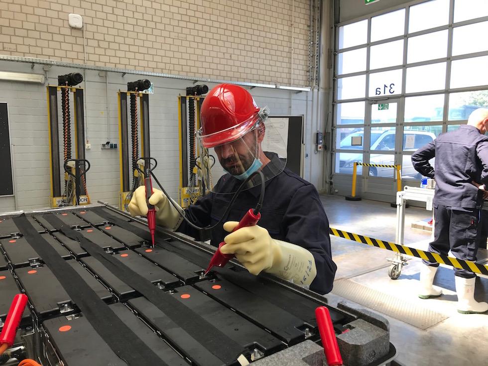 Training batterie eCitaro formatori OMNIplus