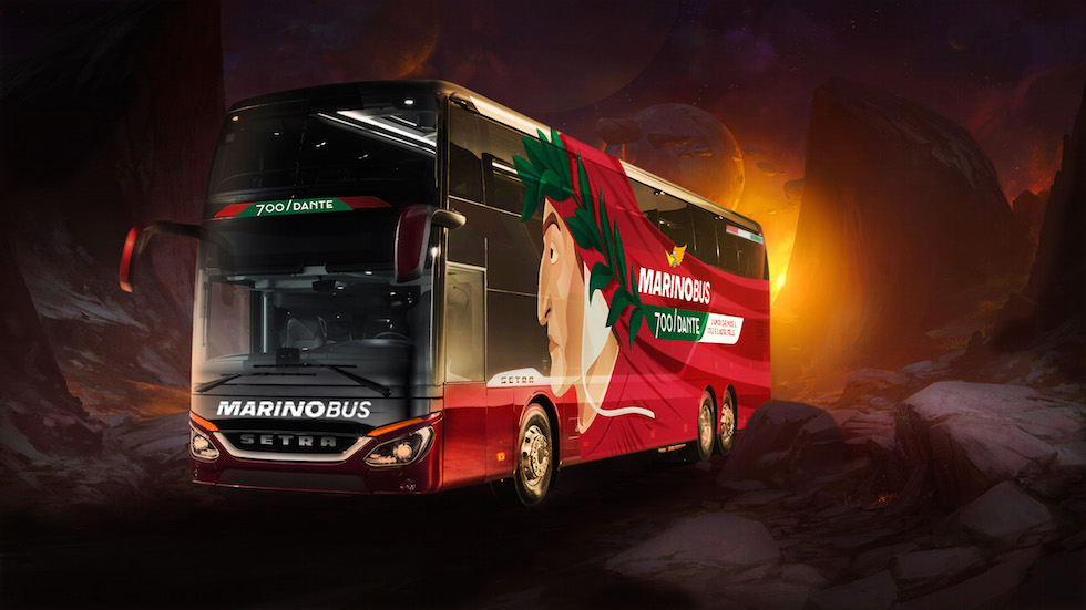 Setra Dante Alighieri Marino Bus