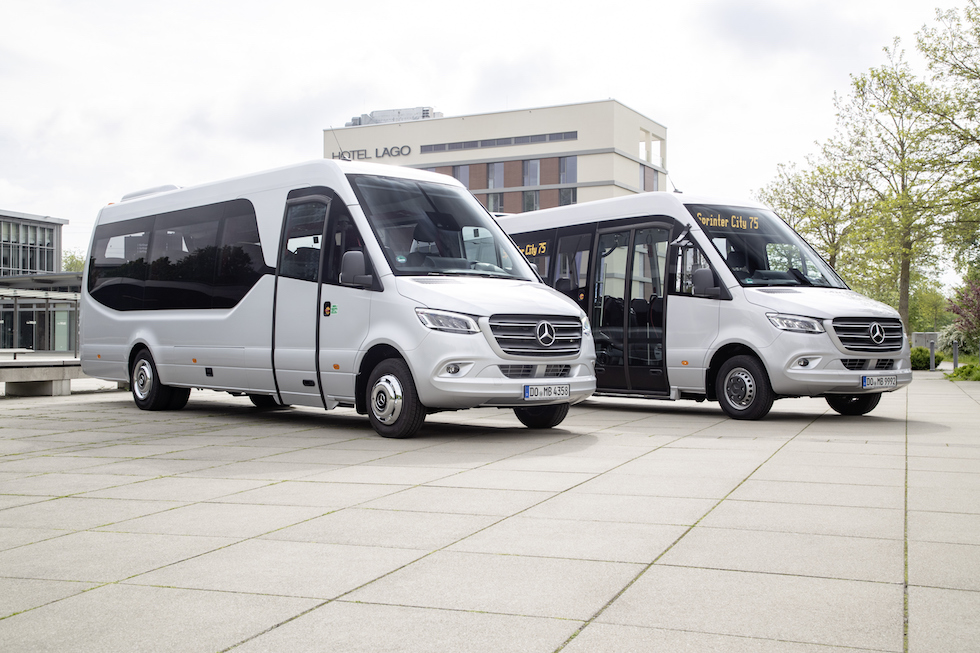 Novità minibus Mercedes-Benz estate 2021