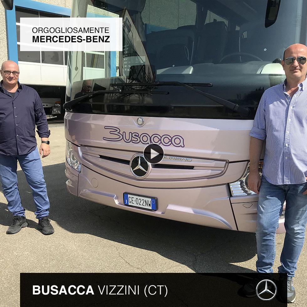 Consegna Mercedes-Benz 2021 a Busacca
