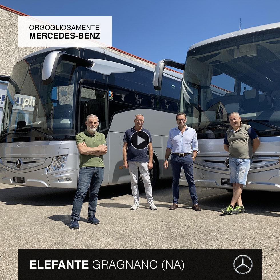 Consegna Mercedes-Benz 2021 a Elefante