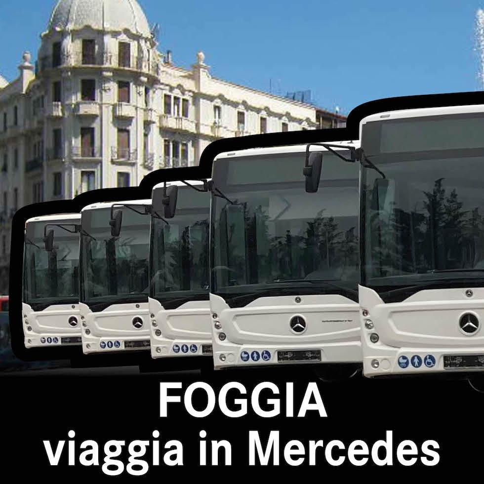 A Foggia si viaggia in Mercedes