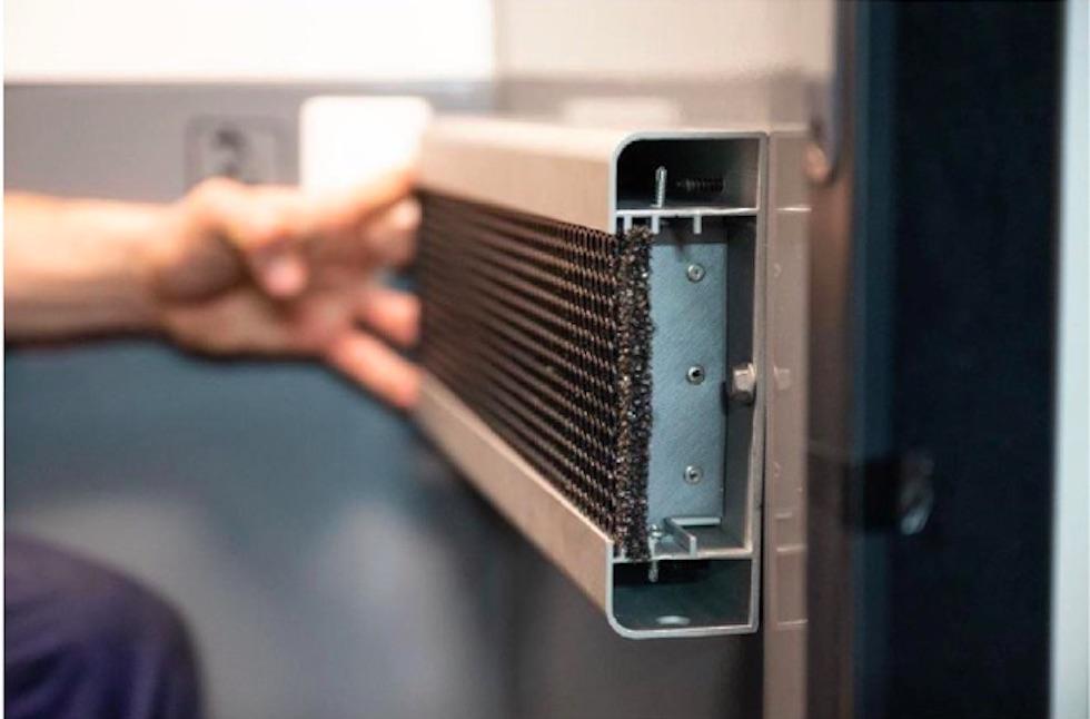 Sanificazione aria toilette autobus