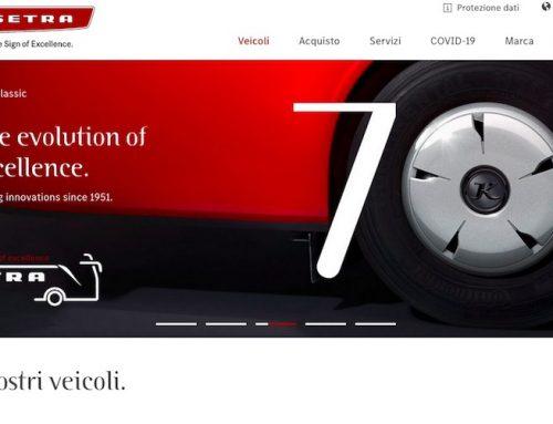 Nuovo sito per Setra