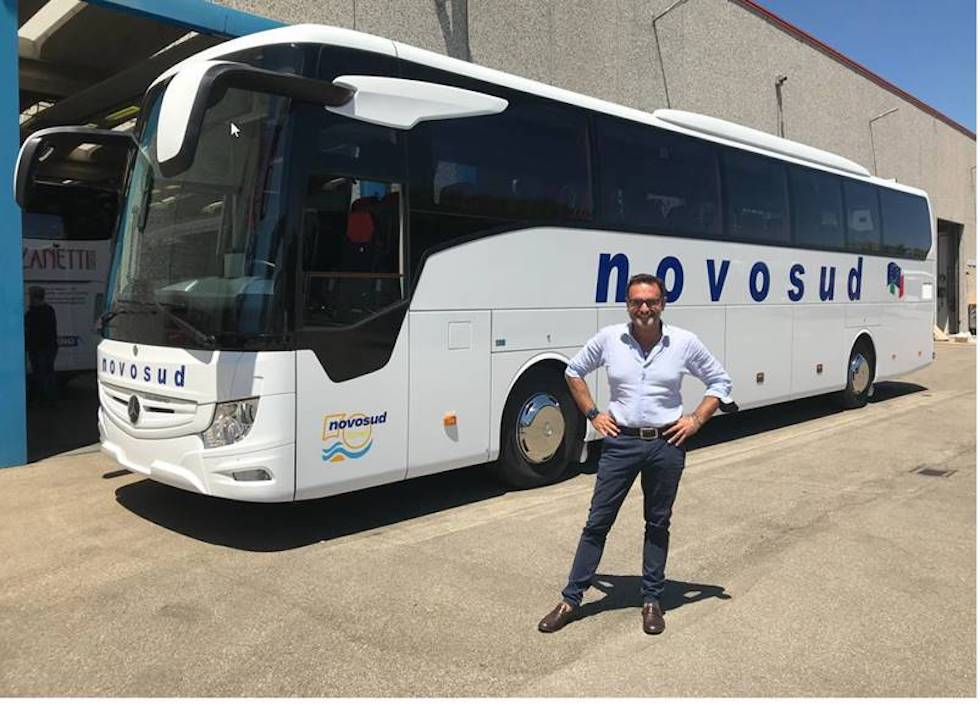 Consegna Mercedes-Benz 2021 a Novosud