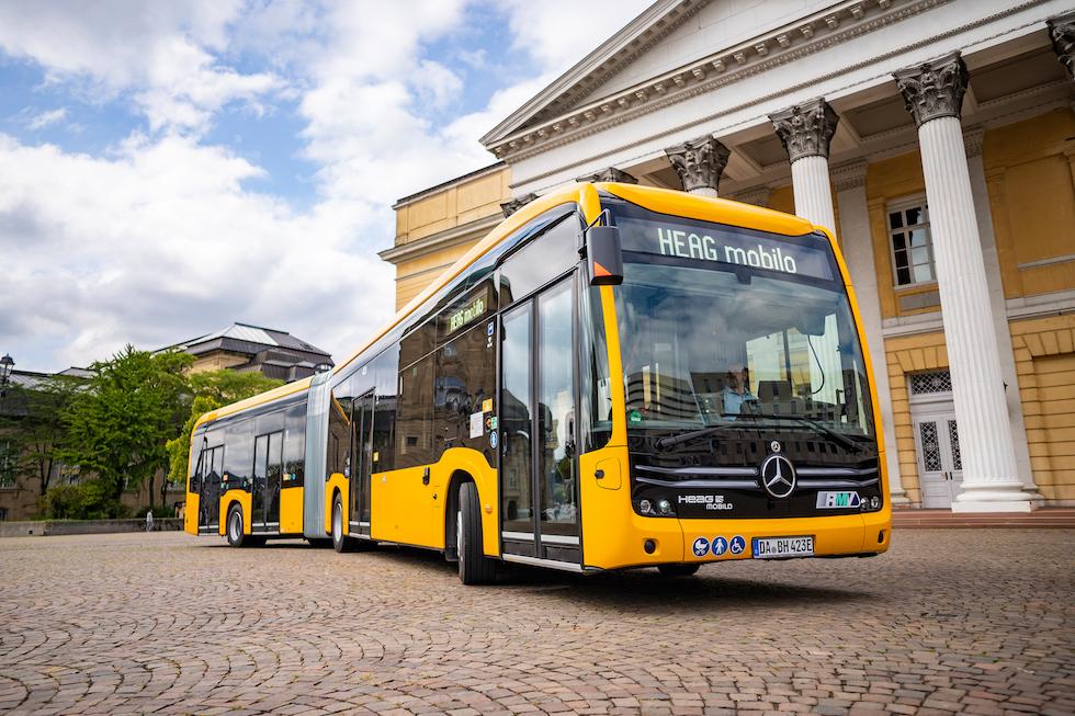 24 eCitaro Mercedes-Benz per Darmstad