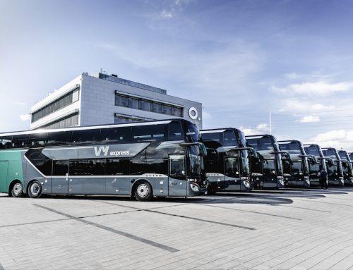 Importante consegna Setra in Norvegia: 13 autobus S 531 DT