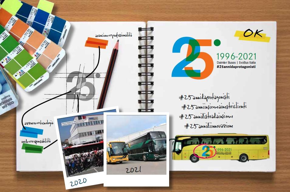 25 anni EvoBus Italia