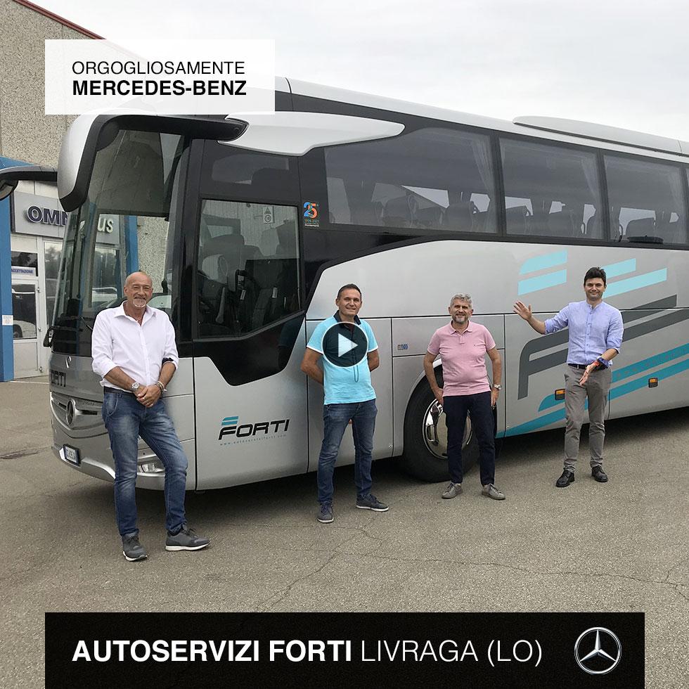 Nuova consegna Mercedes-Benz 2021 a Autoservizi Forti