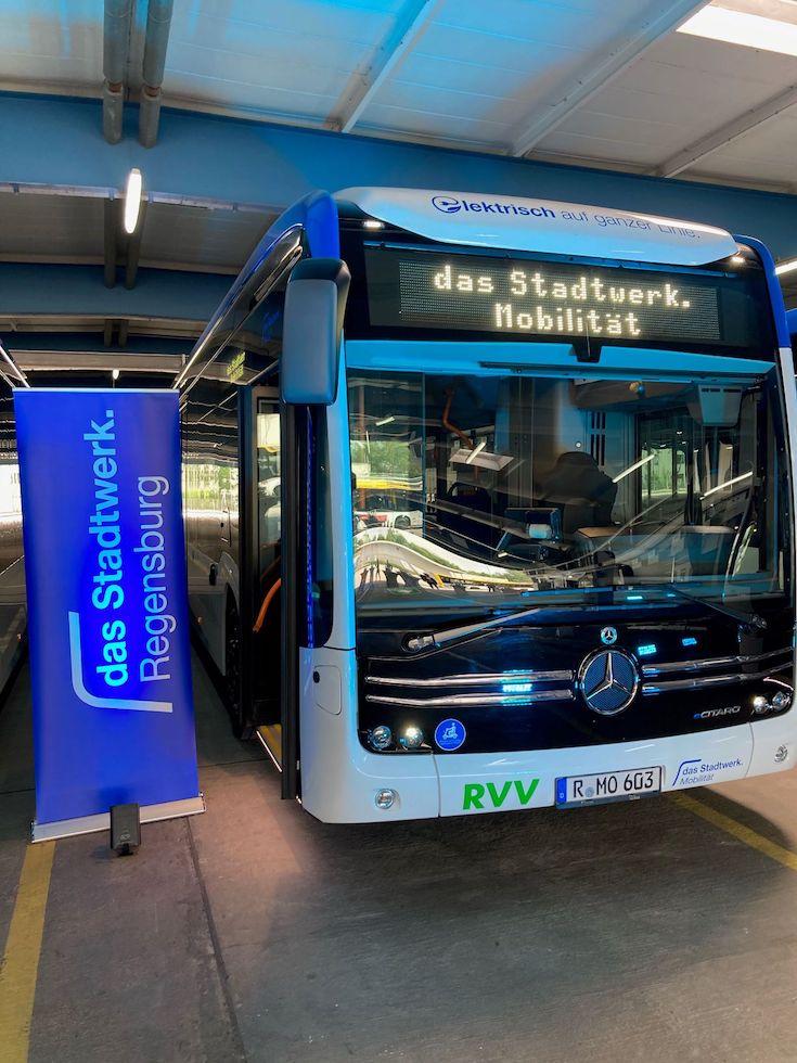 eCitaro Mercedes-Benz a Ratisbona