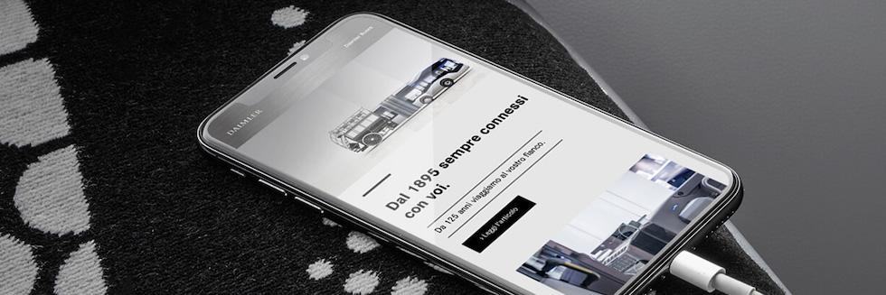 Iscrizione online Newsletter Daimler
