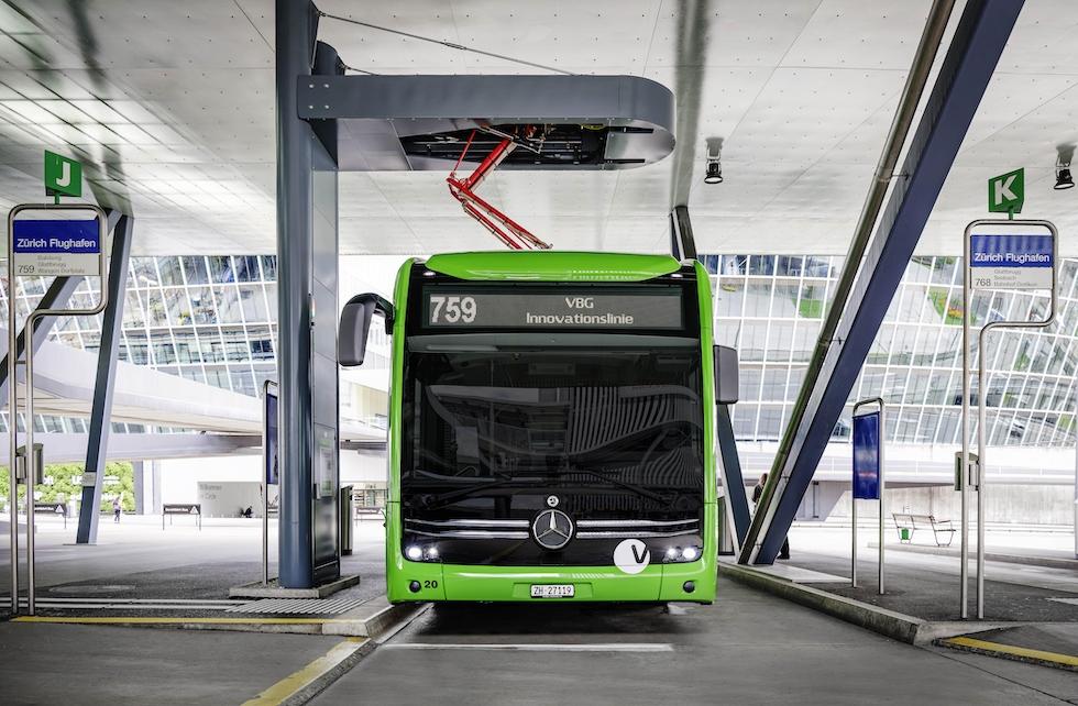 eCitaro Mercedes-Benz super operativo in Svizzera