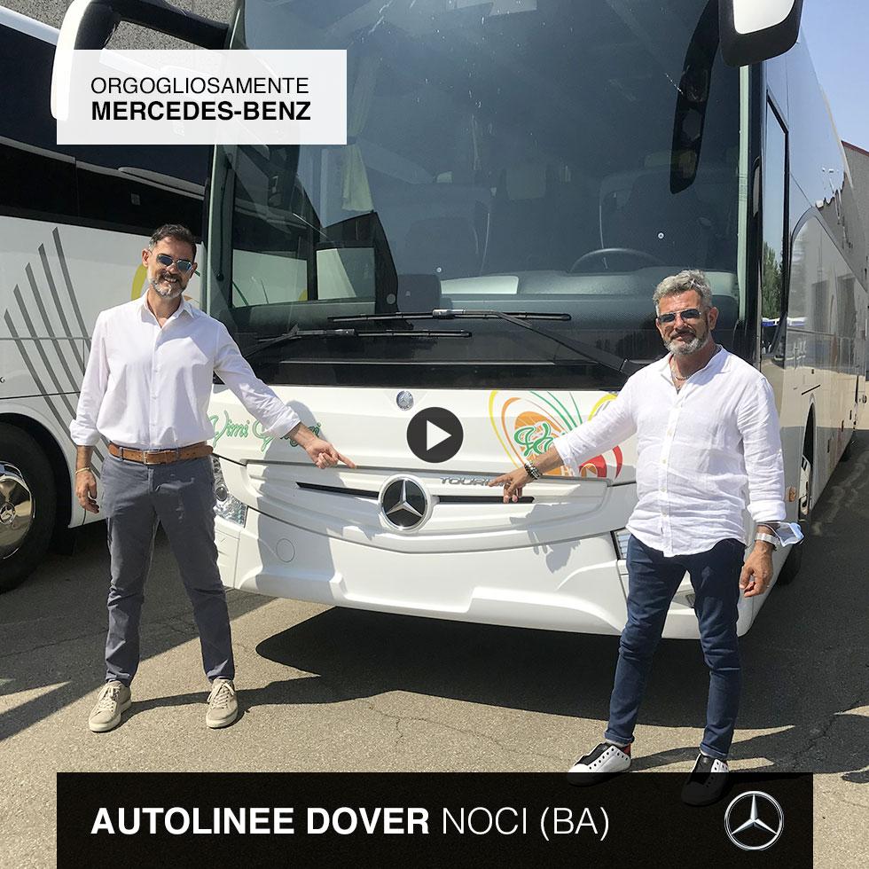 Consegna Mercedes-Benz 2021 a Autolinee Dover