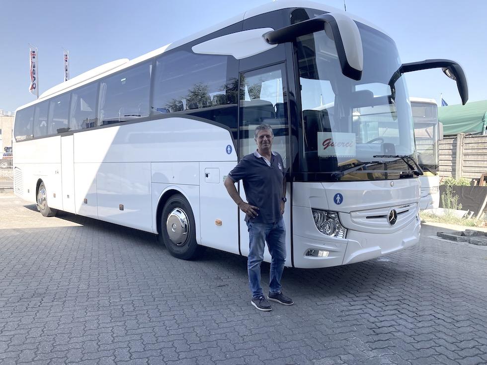 Consegna Mercedes-Benz 2021 a Guerci