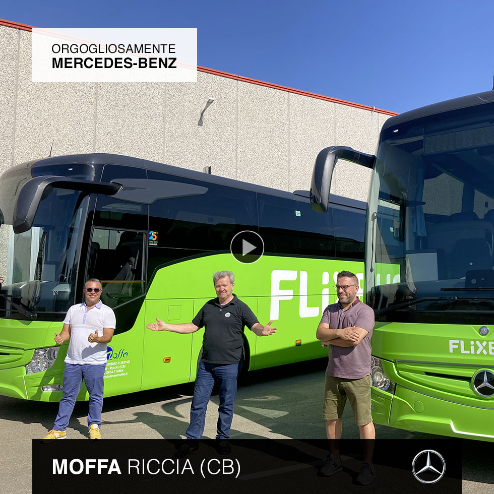 Consegna Mercedes-Benz 2021 a Moffa