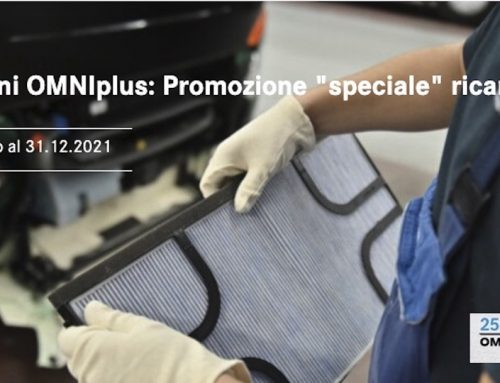 Newsletter OMNIplus: promozioni ricambi per i 25 anni del brand