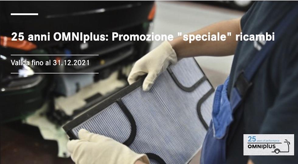 Promozione OMNIplus da newsletter di settembre 2021