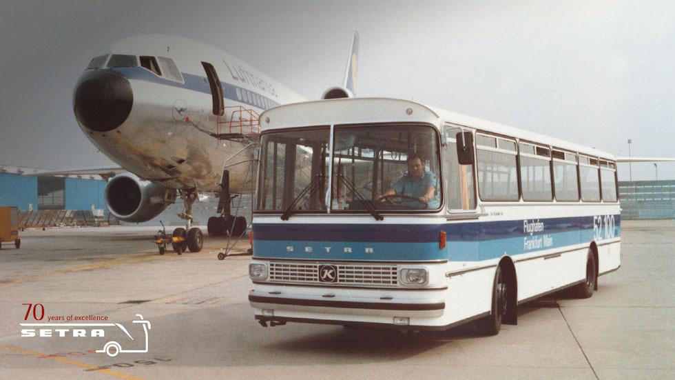 Setra anni 60, il sistema modulare