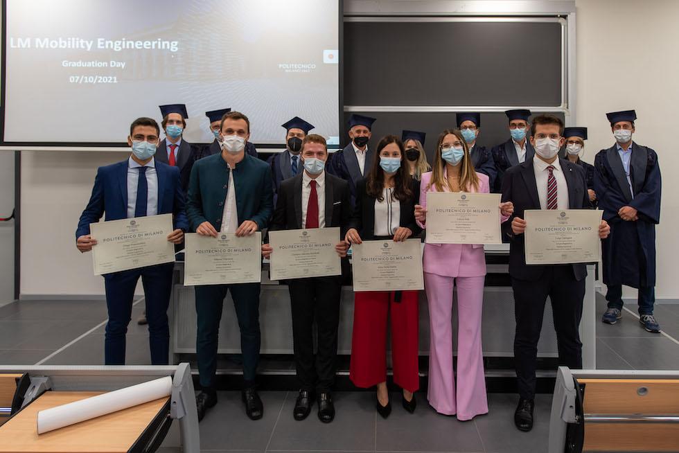 Primi laureati in Mobility Engineering al Politecnico di Milano