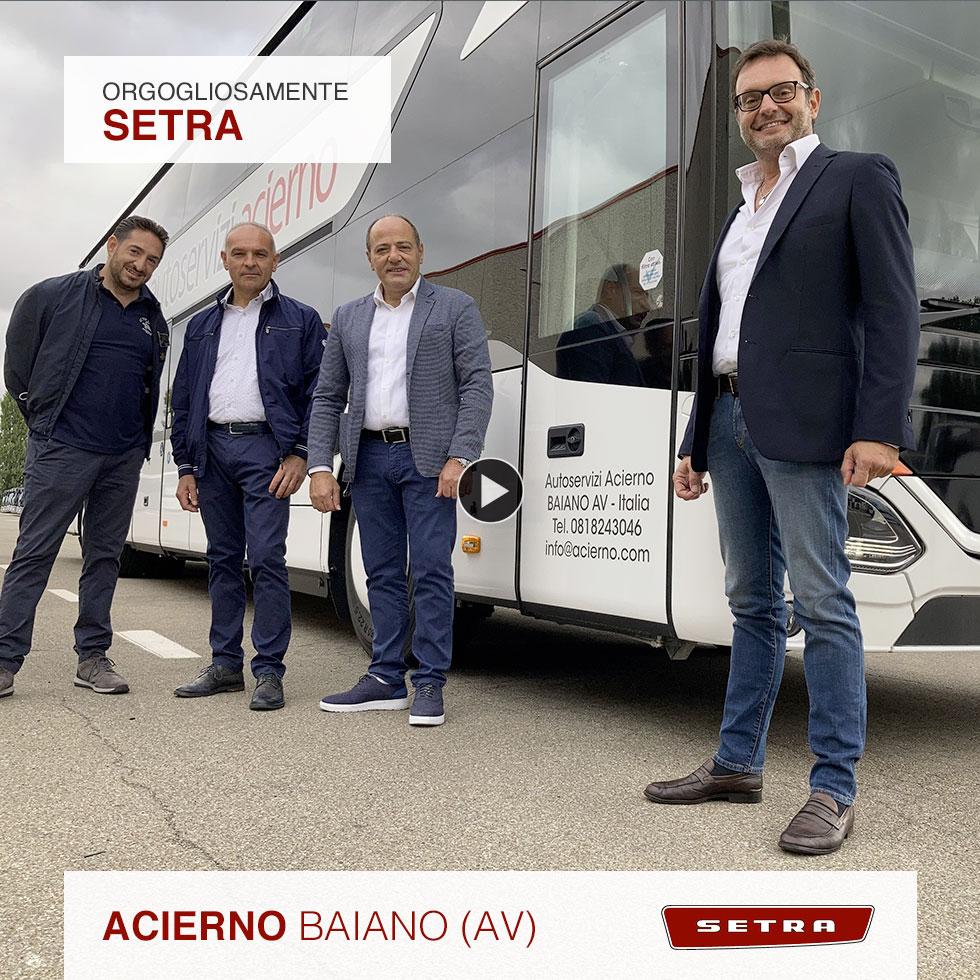 Consegna Setra 2021 a Autoservizi Acierno