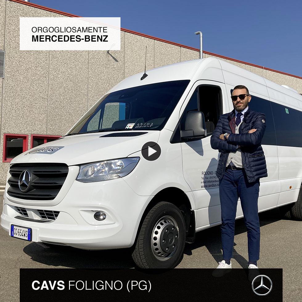 Consegna Mercedes-Benz 2021 a Cavs